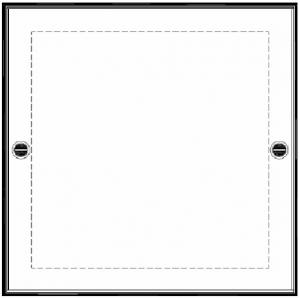 Inox - Enkelt lock