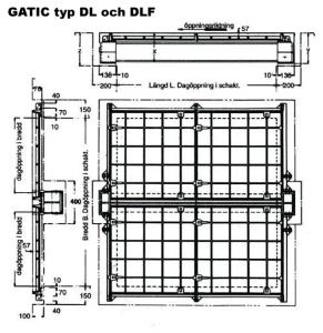 Gatic typ DL och DLF